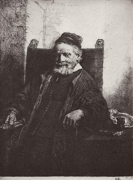 Рембрандт Ван Рейн. Портрет Яна Лютмы Старшего