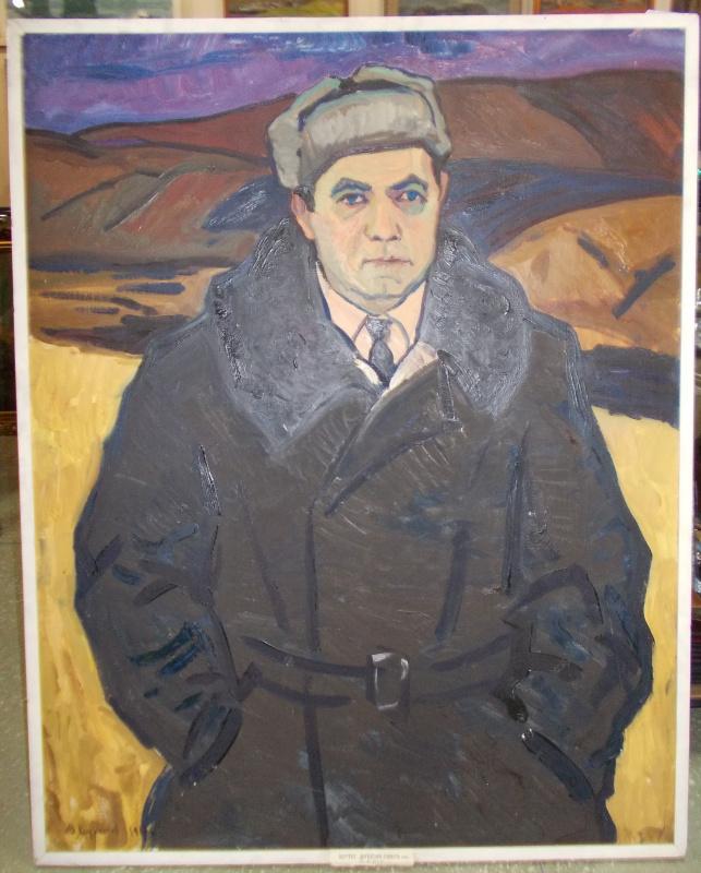 Юрий Иванович Худоногов. Портрет директора совхоза.