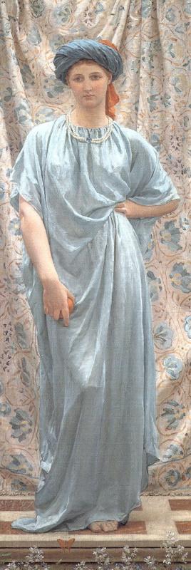 Альберт Джозеф Мур. Девушка в синем