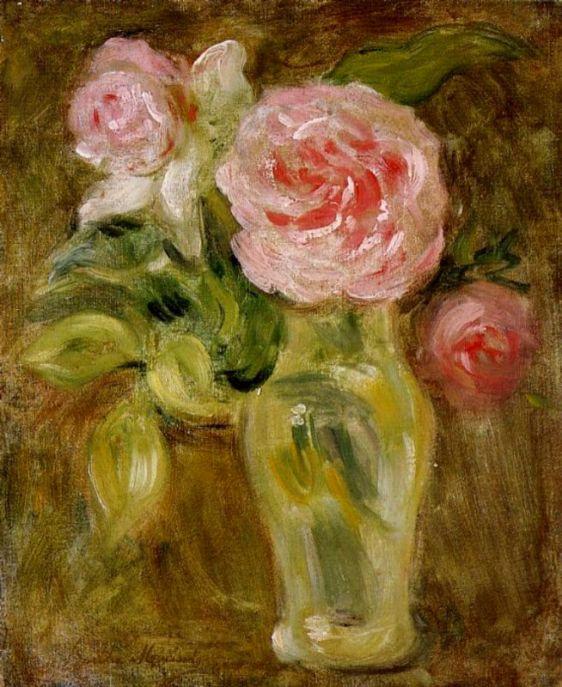 Берта Моризо. Розы