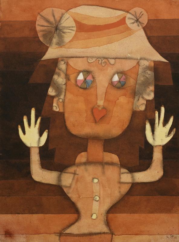 """Пауль Клее. """"Куколка"""" (Портрет)"""