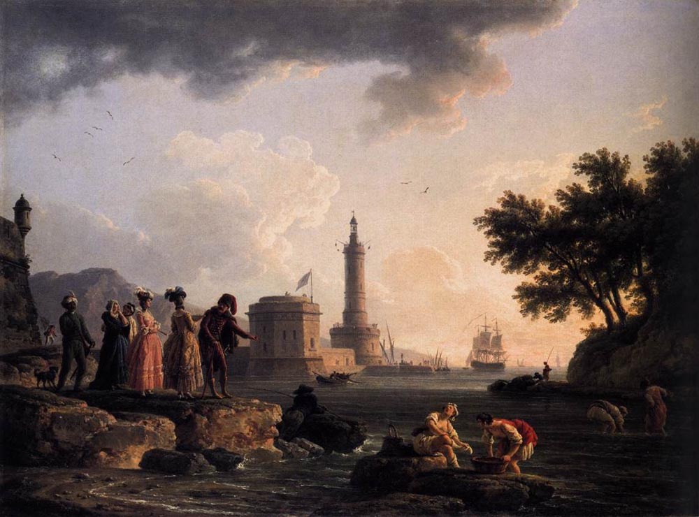 Клод Жозеф Верне. Тучи над головой