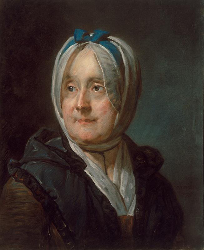 Jean Baptiste Simeon Chardin. Portrait of Madame Chardin