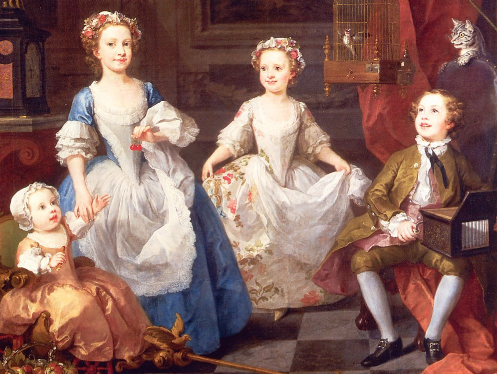 William Hogarth. Children Graham