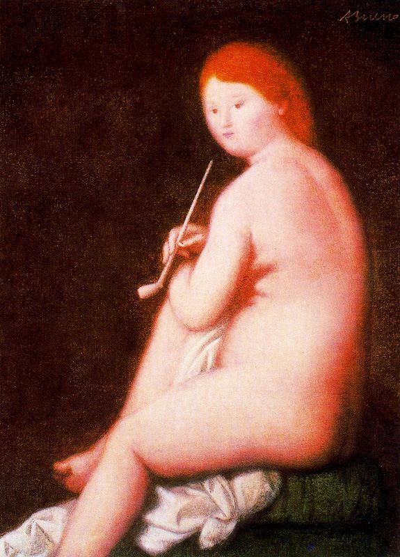 Антонио Буэно. Обнаженная женщина