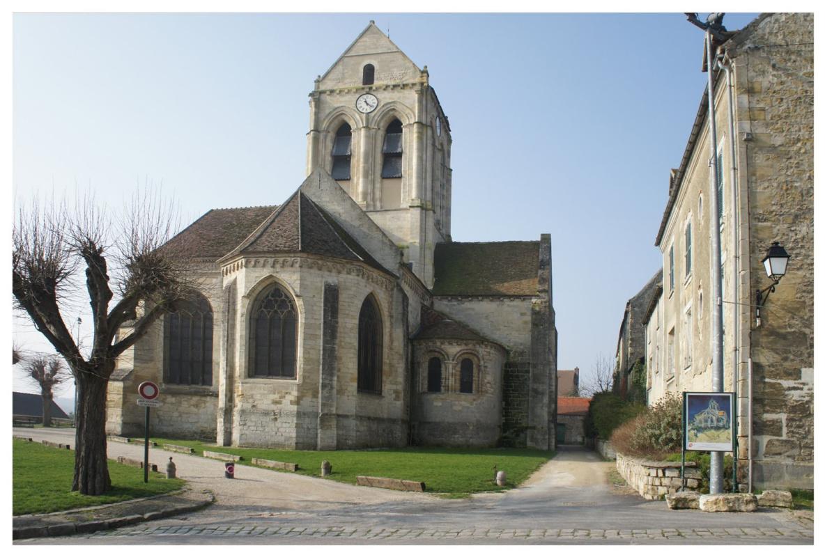Церковь с картины Ван Гога. Фото: http://2.bp.blogspot.com/