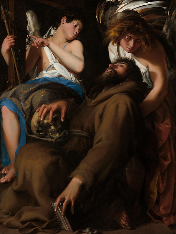 Джованни Бальоне (Баглионе). Экстаз святого Франциска II