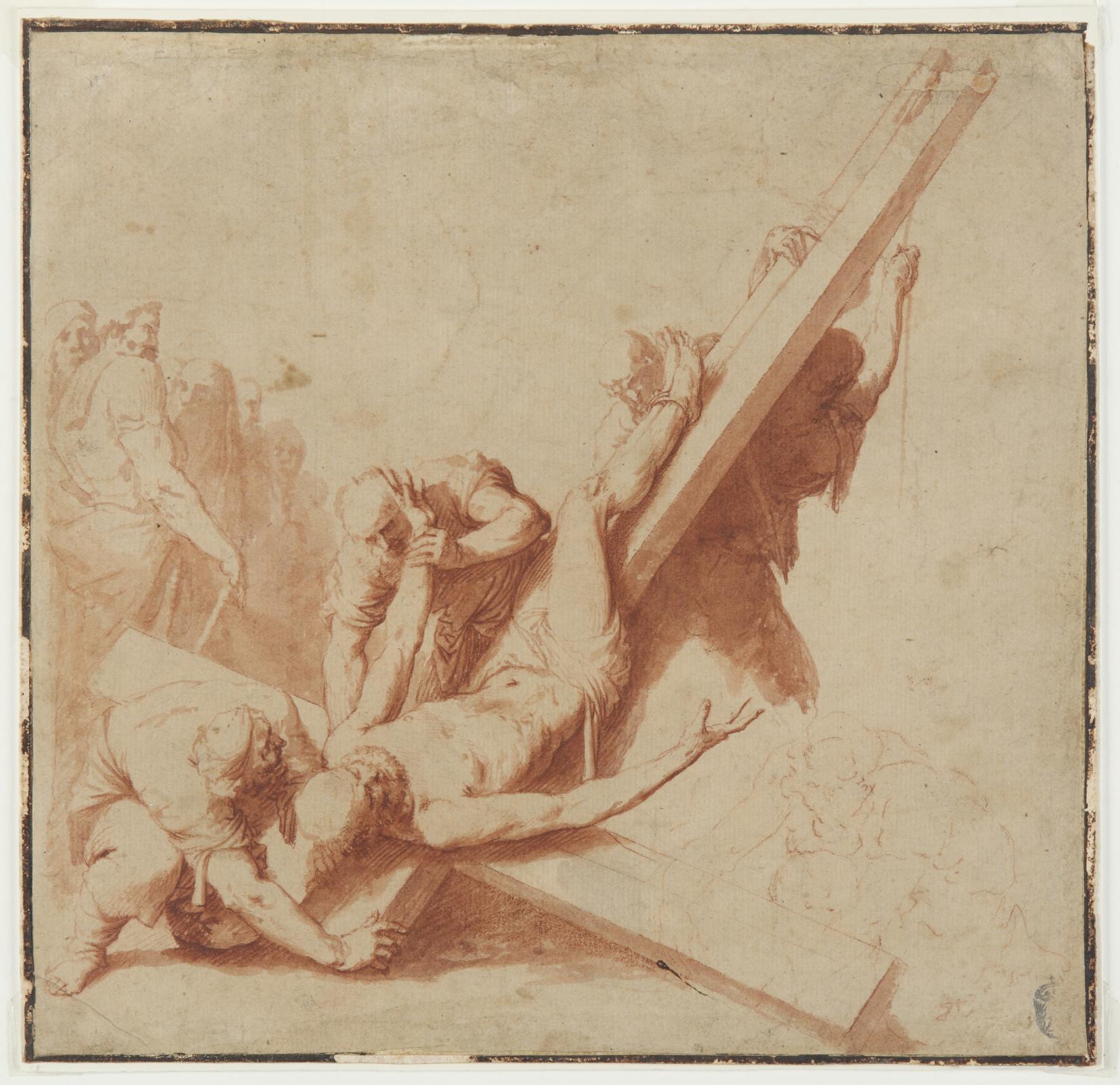Хосе де Рибера. Распятие святого Петра