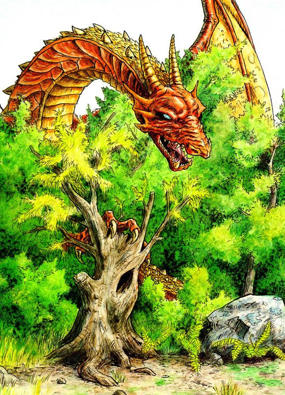 Джонатан Хант. Дракон