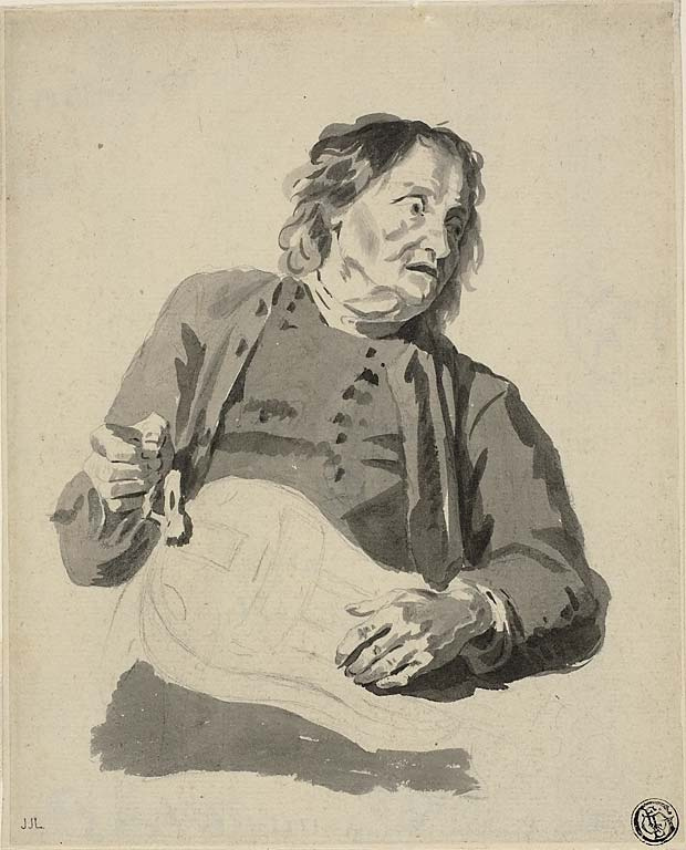 Жан-Жак де Буассье. Шарманщик