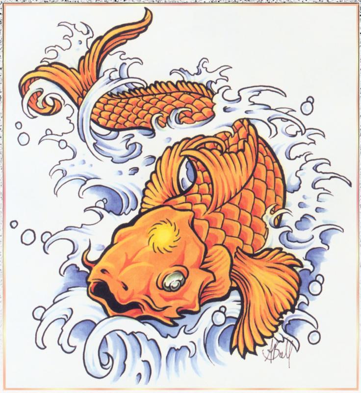Аарон Белла. Золотая рыбка