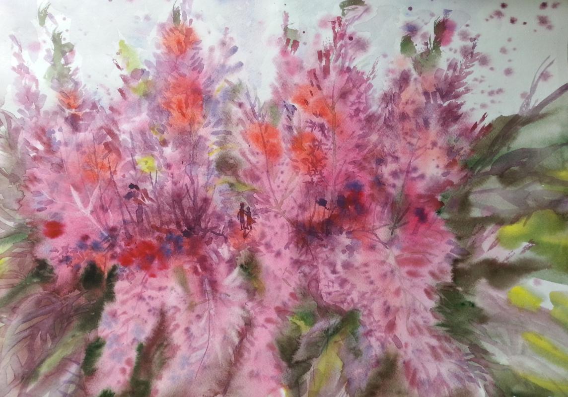 Natalia Gennadievna Torlopova. Lilac garden