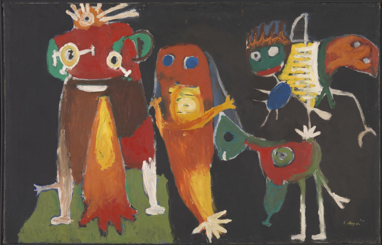 Karel Appel. Hip, Hip, Hoorah!