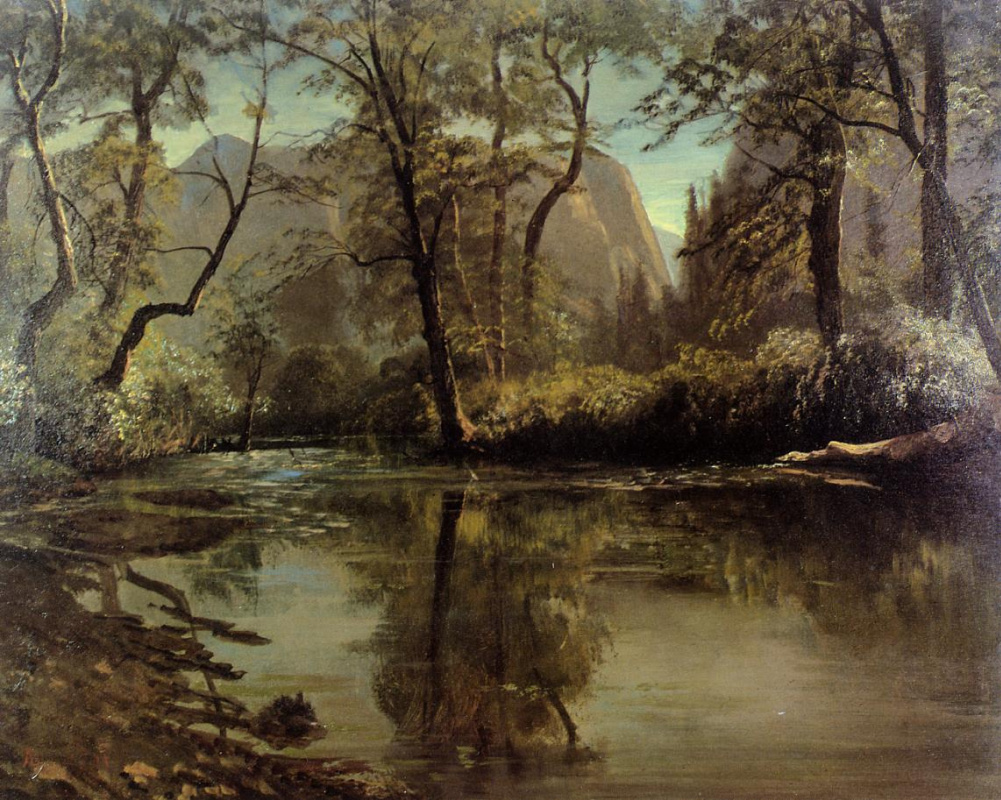 Альберт Бирштадт. Пейзаж в долине Йосемити
