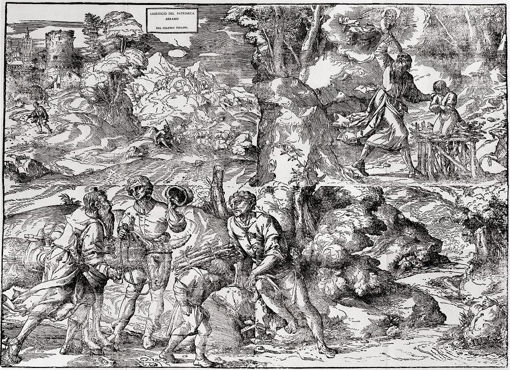 Тициан Вечеллио. Жертвоприношение Авраама