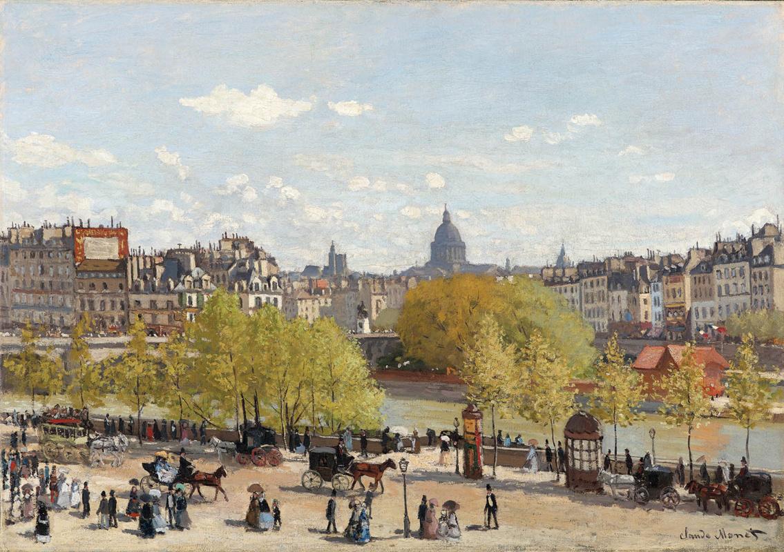 Promenade at the Louvre