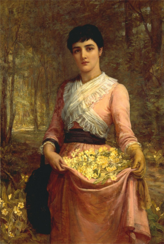 Edwin Longsden Long. Series Daughters of Our Empire