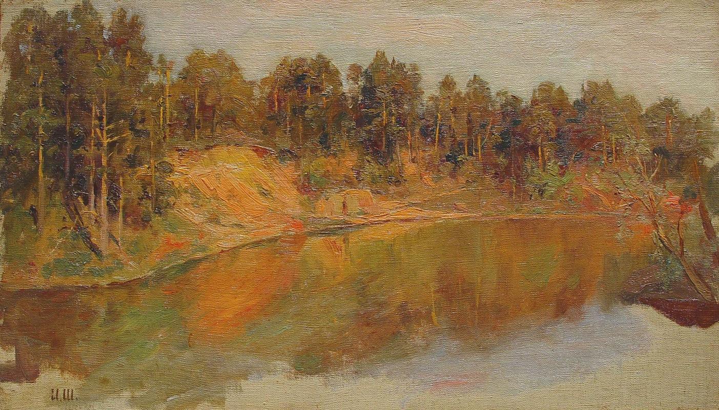 Ivan Shishkin. Forest lake