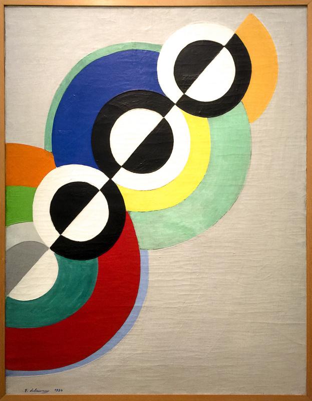 Robert Delaunay. Rhythm