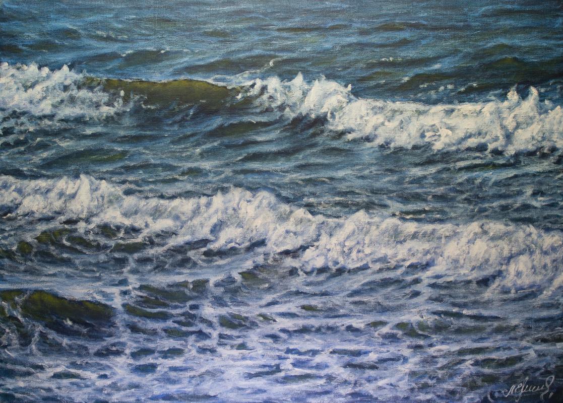Valery Levchenko. № 578 Seascape.