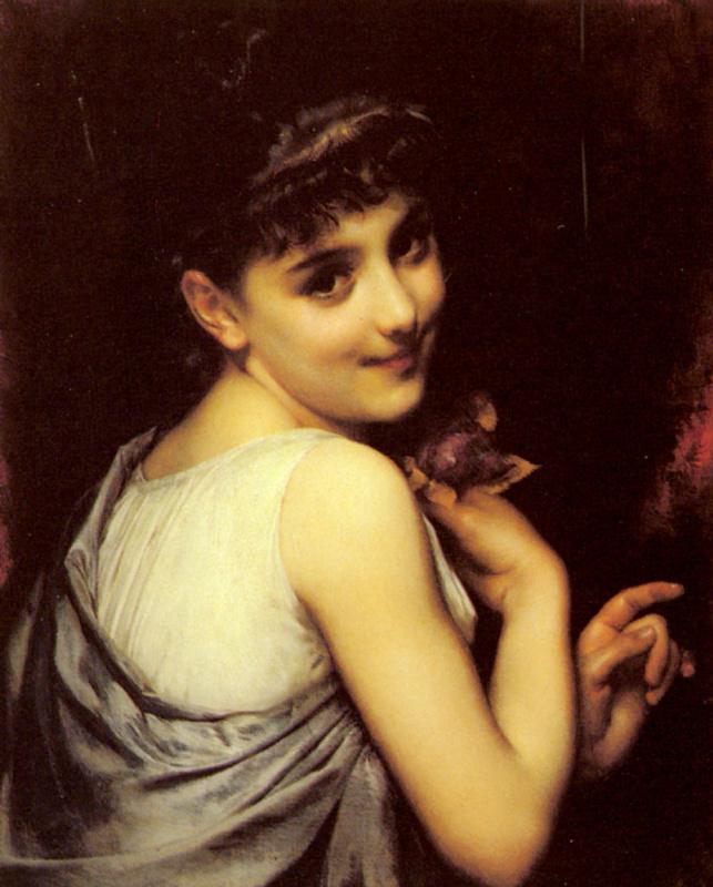 Этьен Адольф Пиот. Молодая красотка