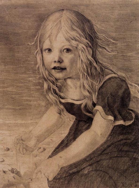 Карл-Фридрих Шинкель. Портрет дочери художника Мери