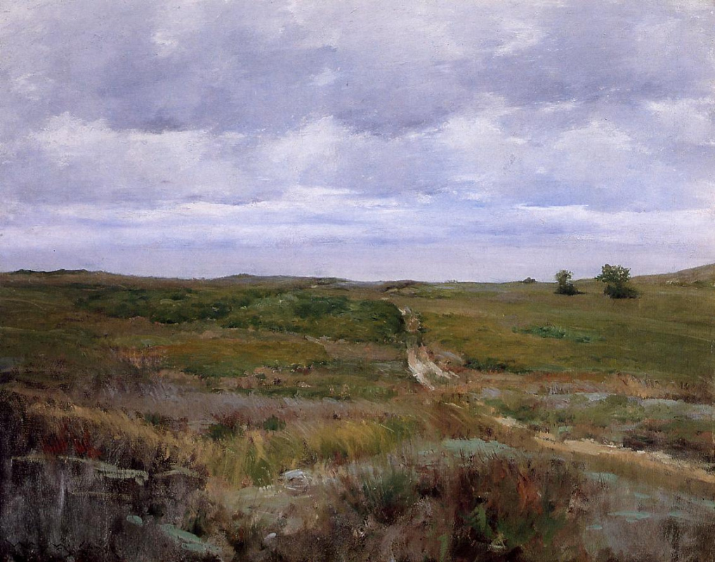 William Merritt Chase. Over the hills and forests