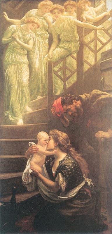 Эдвард Роберт Хьюз. Ангелы