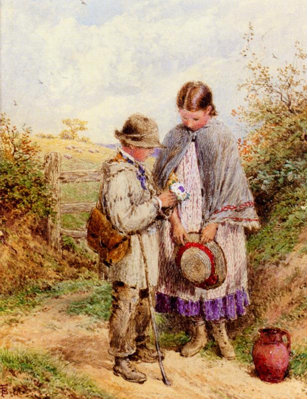 Букетик цветов