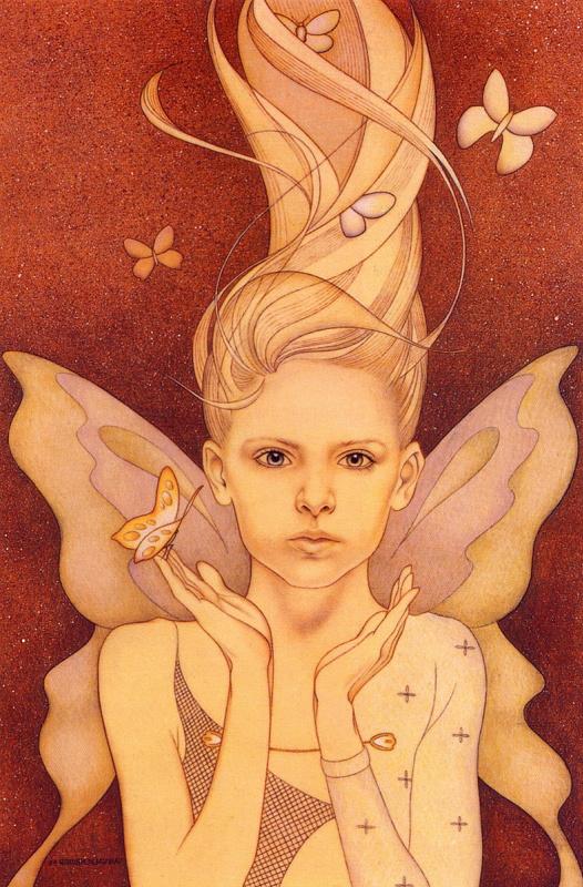 Ван Валкенбург. Бабочки в волосах