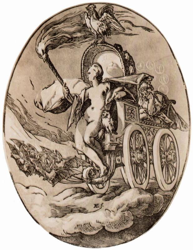 Hendrik Goltzius. The goddess of the night