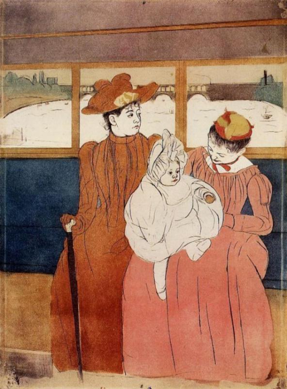 Mary Cassatt. In the omnibus