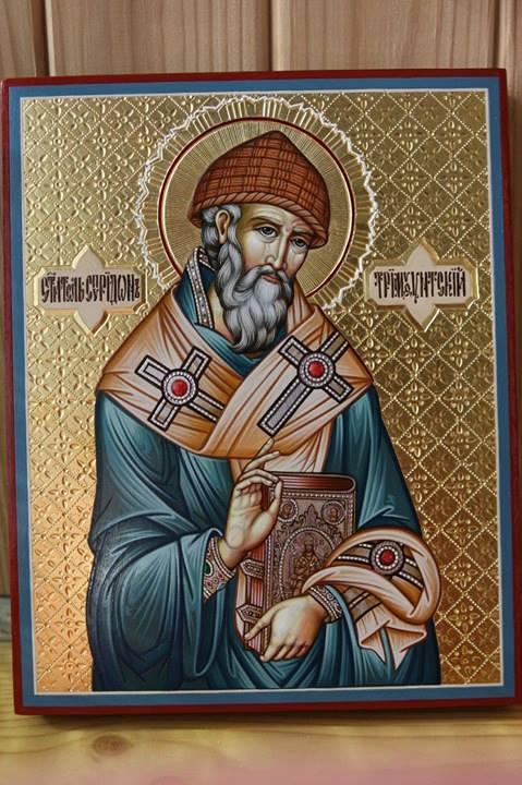 Alexander Alekseevich Zubko. St. Spyridon of Trimifuntsky