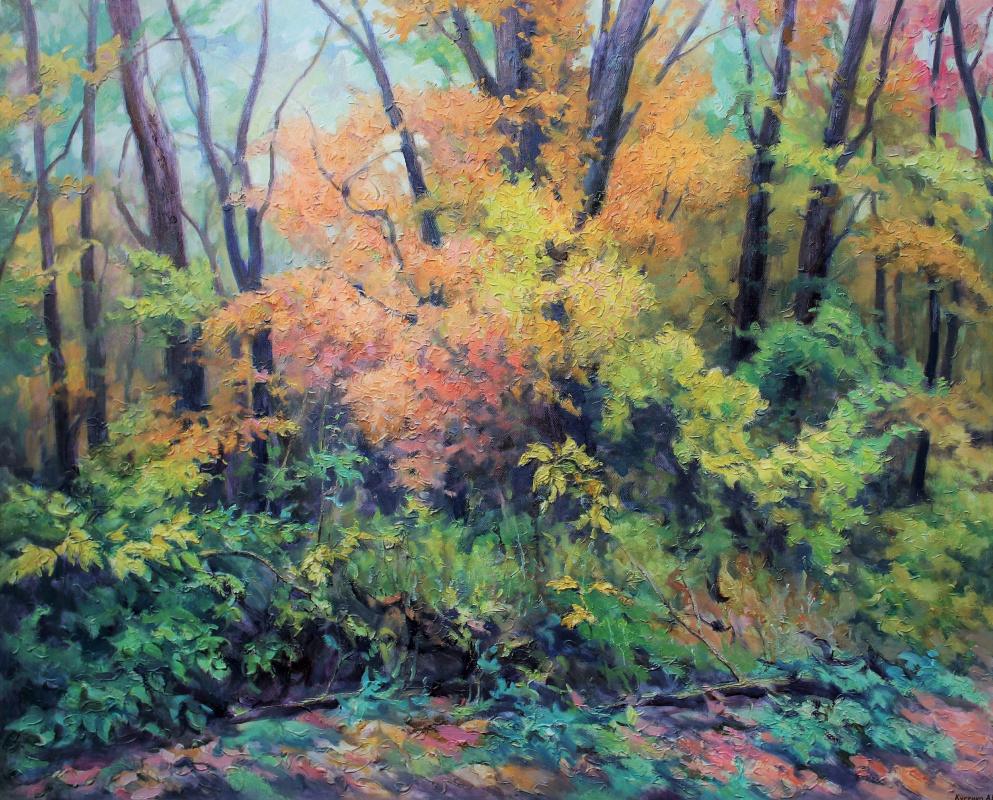 Kusenko Vladimirovich Vladimirovich. Colors of autumn