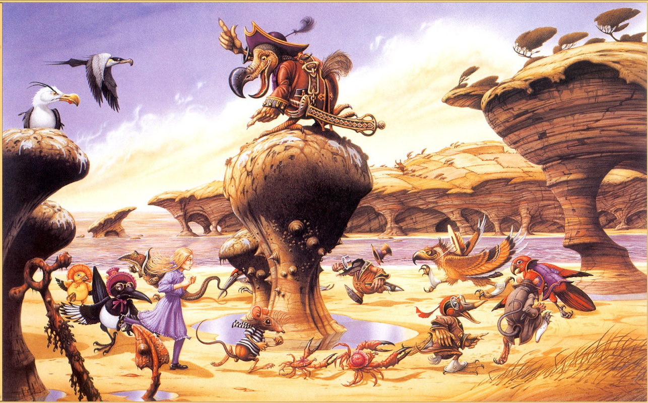 Rodney Matthews. Closed race