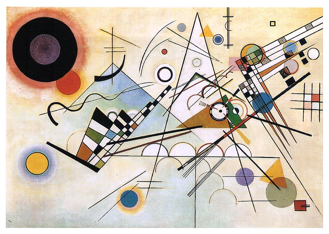 Wassily Kandinsky. Composition VIII