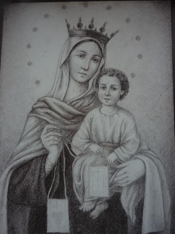Михаил Тараканов. Мадонна с Младенцем