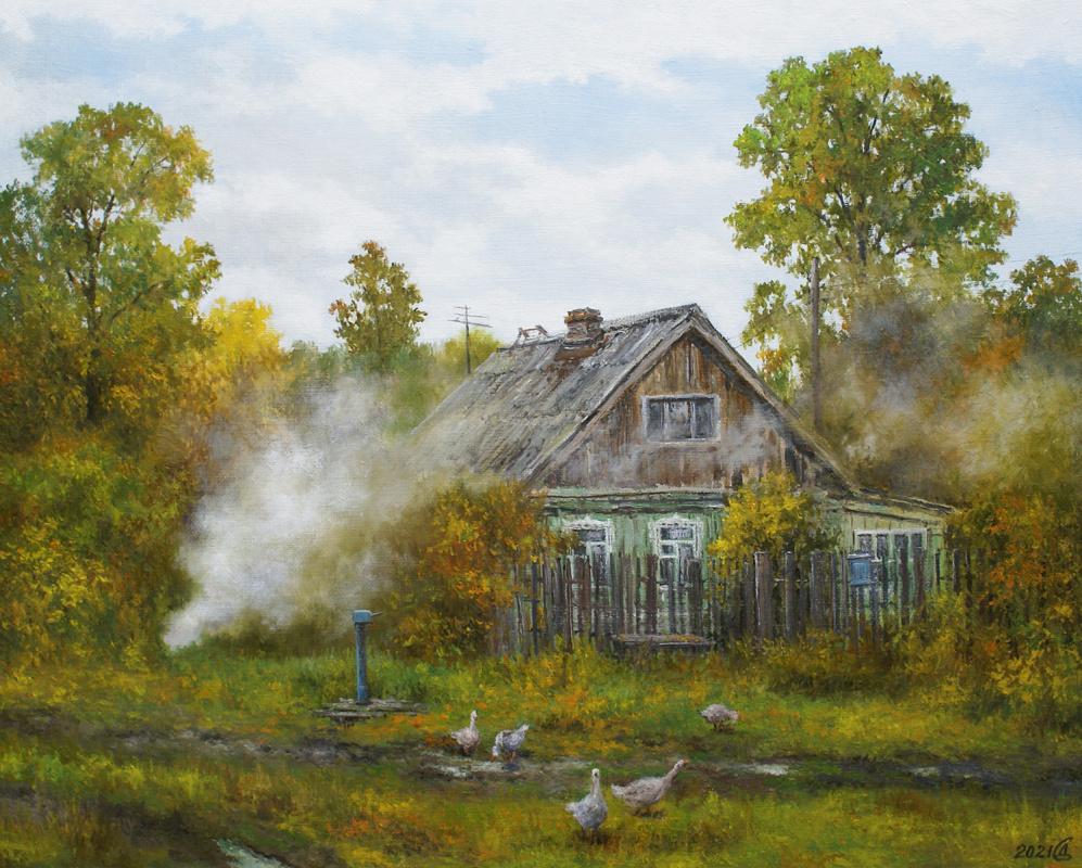 Сергей Владимирович Дорофеев. Rustic autumn