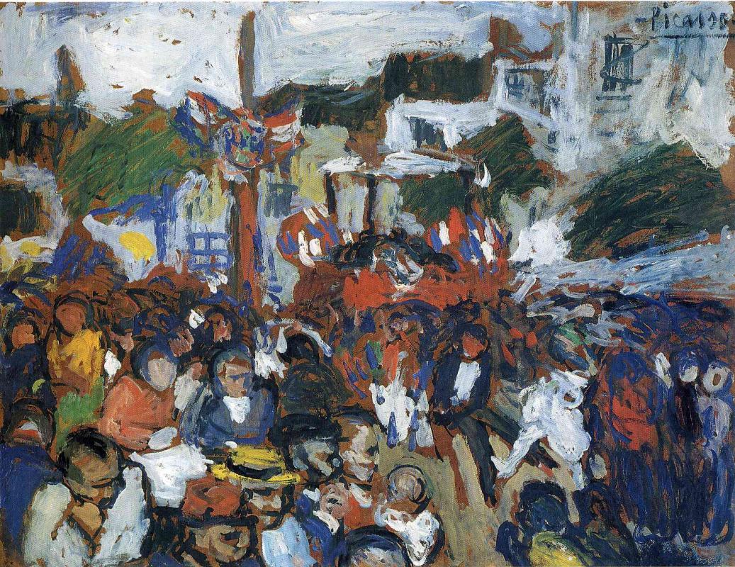 Пабло Пикассо. Четырнадцатое июля