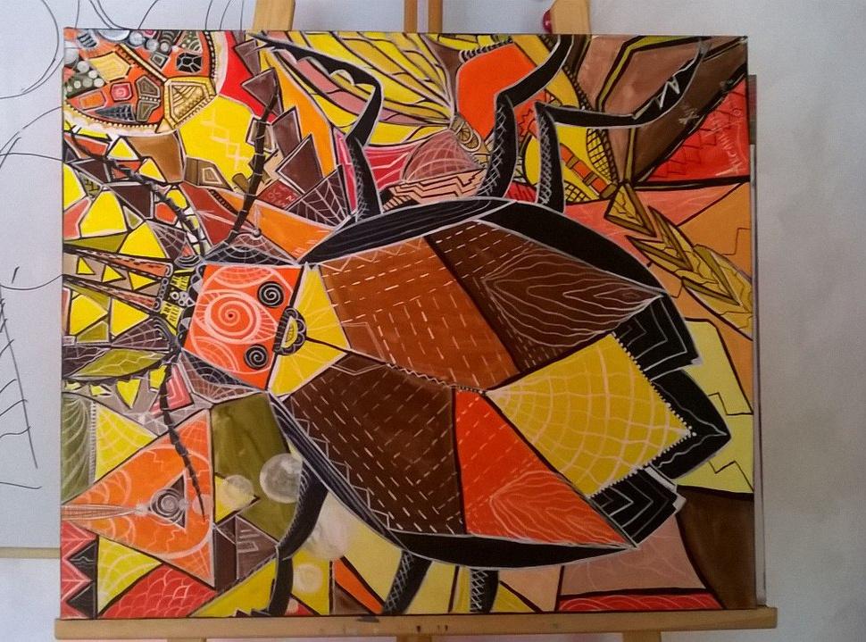 Oksana Chekmeneva-Smoleva. Beetle