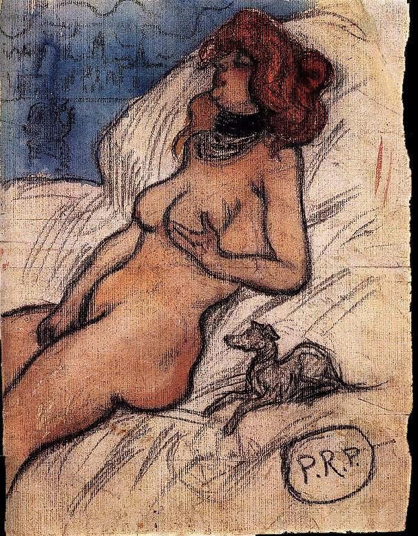 Пабло Пикассо. Женщина, мечтающая о Венеции