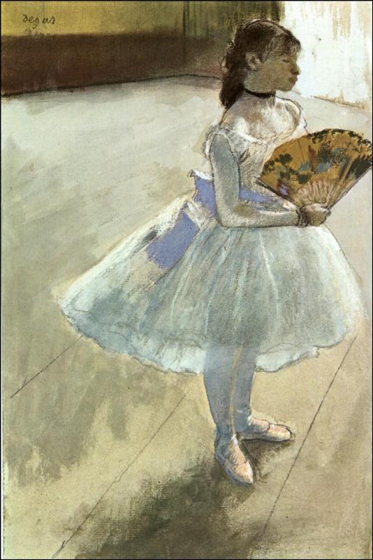 Танцовщица с веером