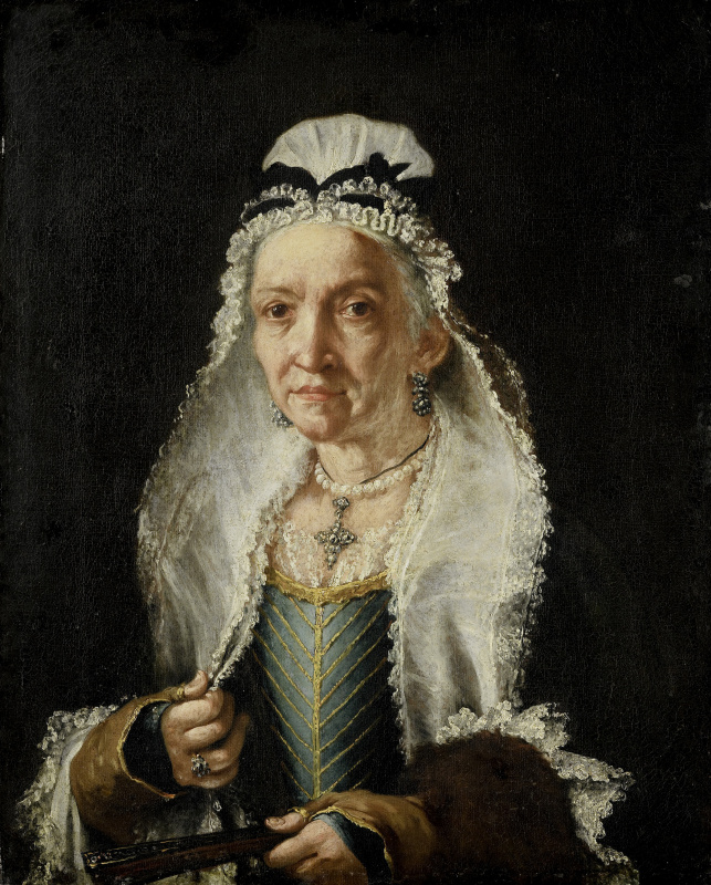 Витторе Гисланди. Портрет пожилой дамы