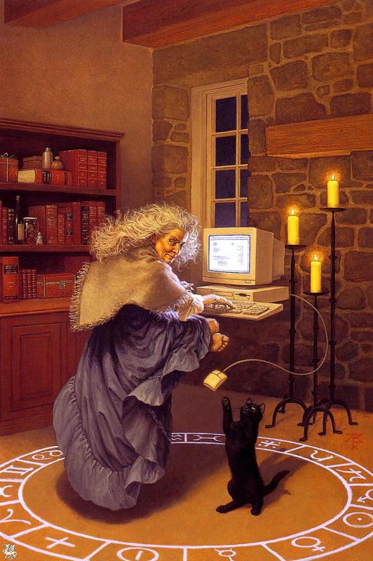 Тристан Элвелл. Современная волшебница