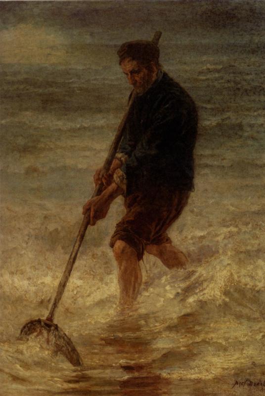 Йозеф Исраэлс. Ловля крабов