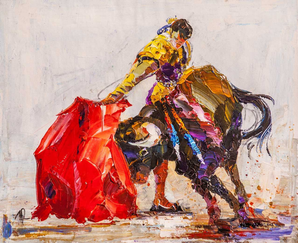 Jose Rodriguez. Corrida de toros