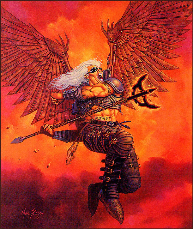 Марк Сассо. Протезированные крылья