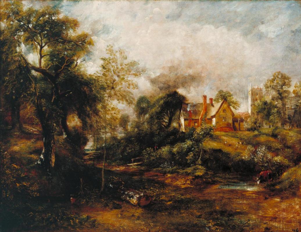 John Constable. Farm Glebe