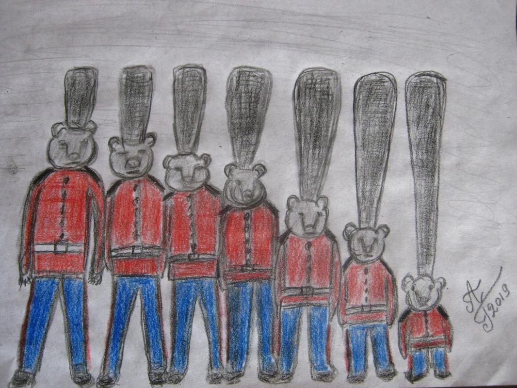 """Alexey Grishankov (Alegri). """"The Great Royal Guard"""" (The Great Royal Guard)"""
