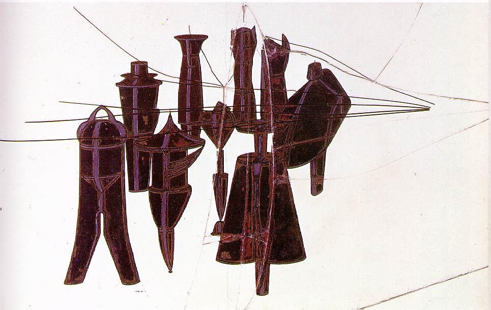 Marcel Duchamp. The ninth form of debauchery